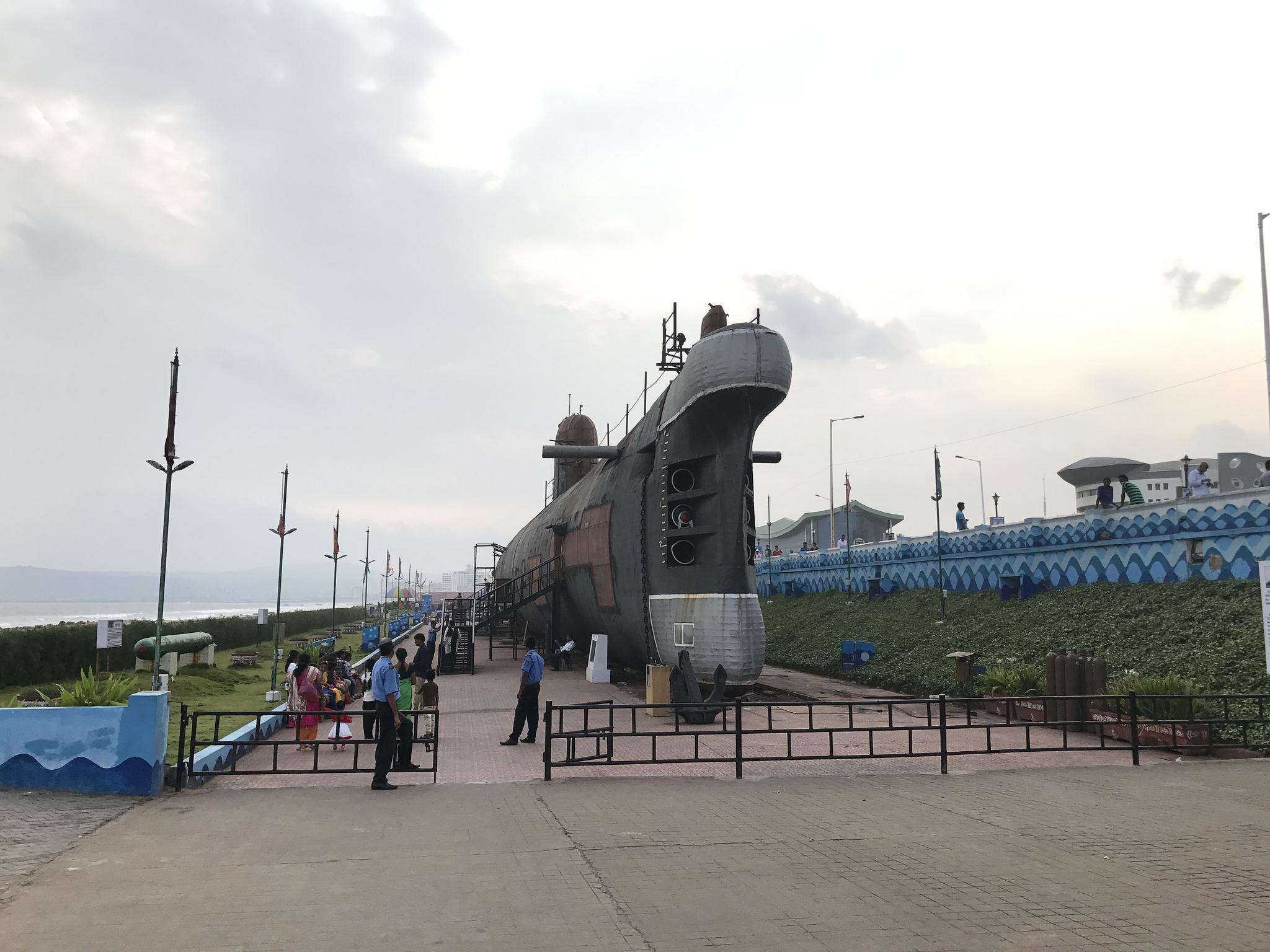 Kursura Submarine Museum Visakhapatnam