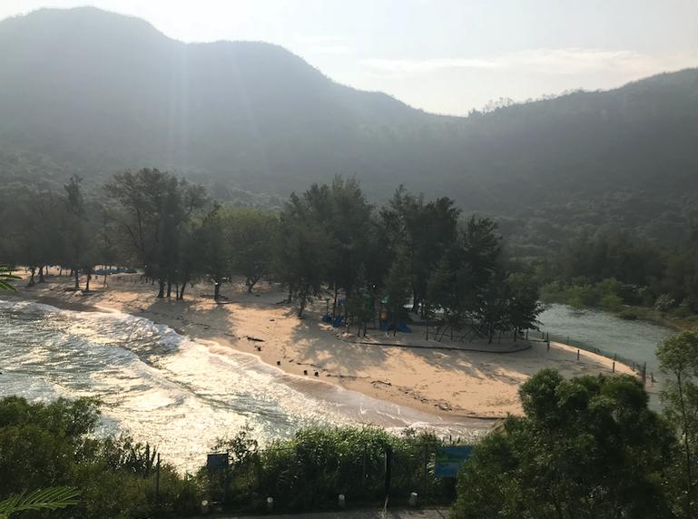 Snip20171109 13 - Do you enjoy cycling on a beach road ? Try YangMeiKeng in Dapeng Shenzhen !