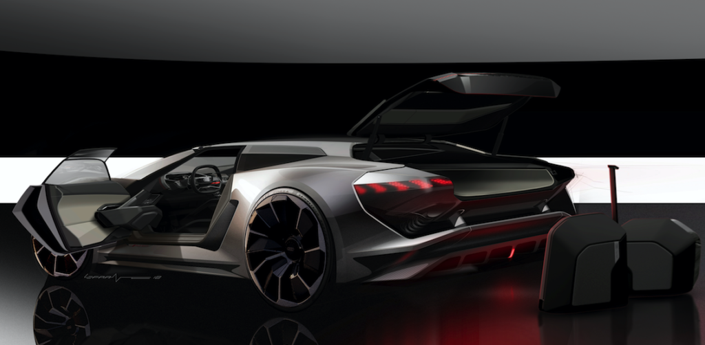 Snip20180825 2 1024x502 - Audi's PB18 e-tron supercar designed around ideal driver's position in the centre