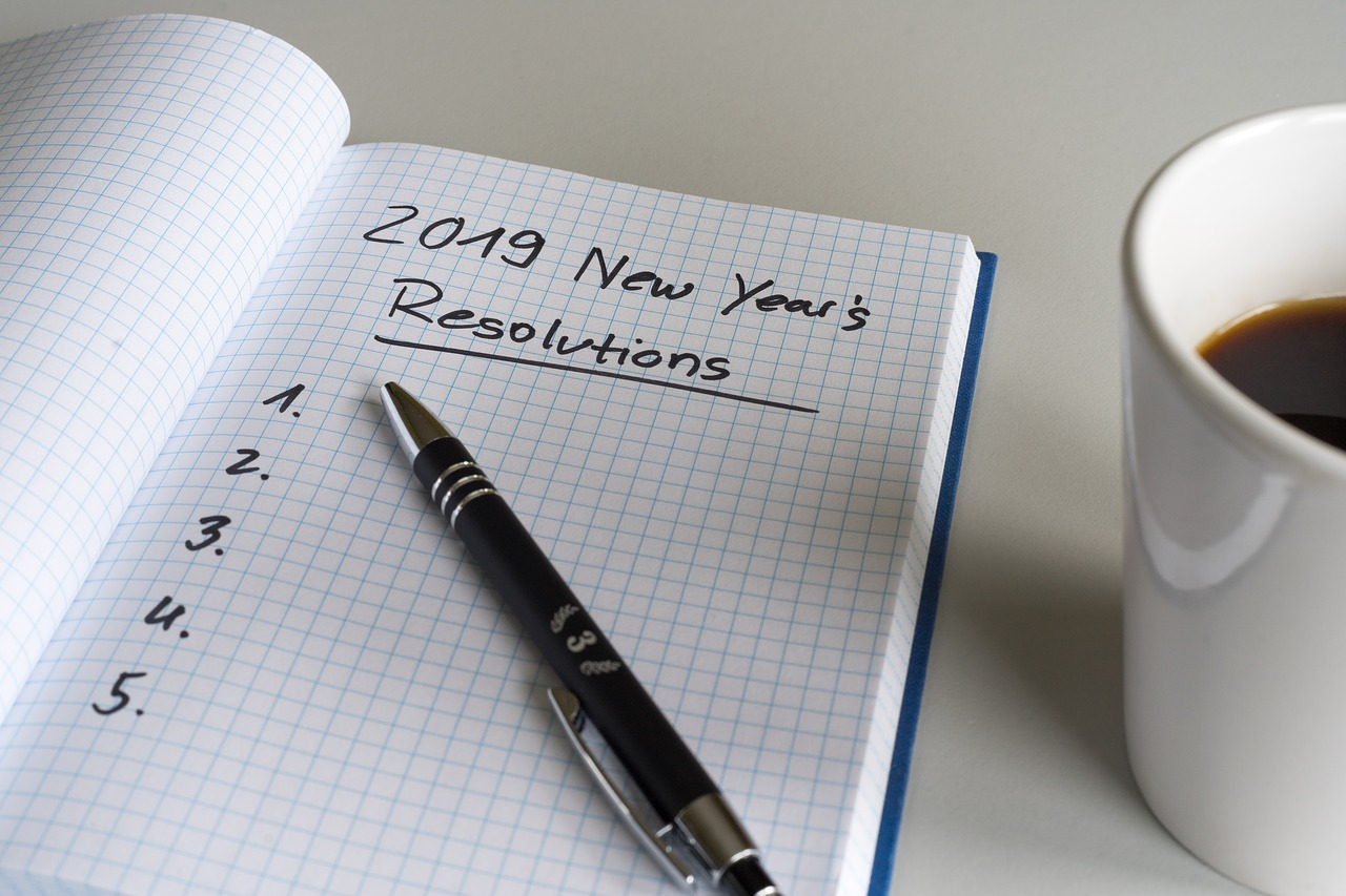 resolutions 3889989 1280 - 2019 Kicking off! What are your new year resolutions?