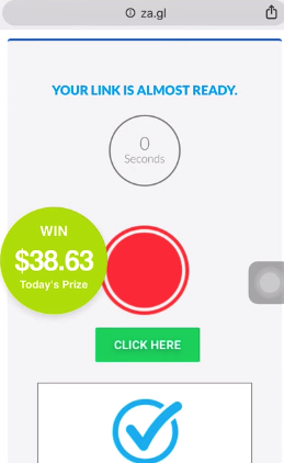 Za.gl link shortening and earning money. Is it real or fake?